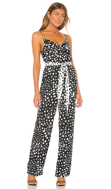 LPA Chelsi Jumpsuit in Black & White