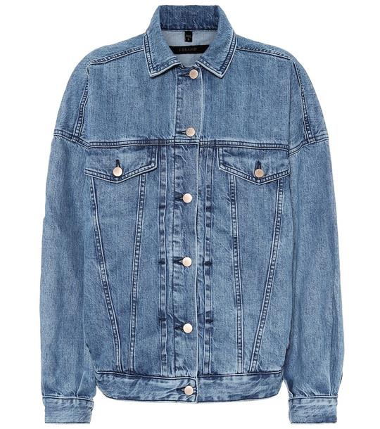 J Brand Drew denim jacket in blue
