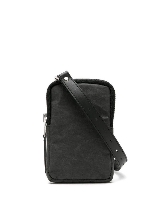 Uma - Raquel Davidowicz planície shoulder bag in black