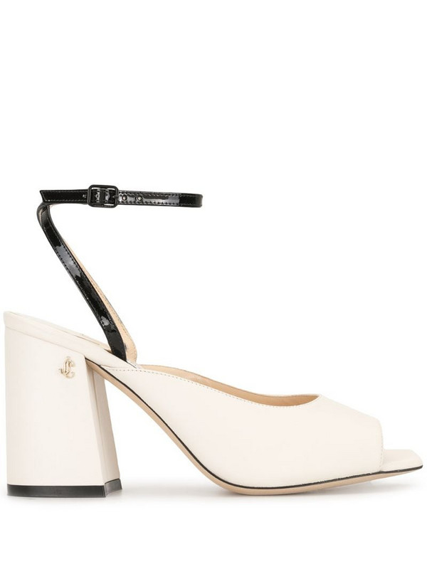 Jimmy Choo Jassidy 85mm sandals in white