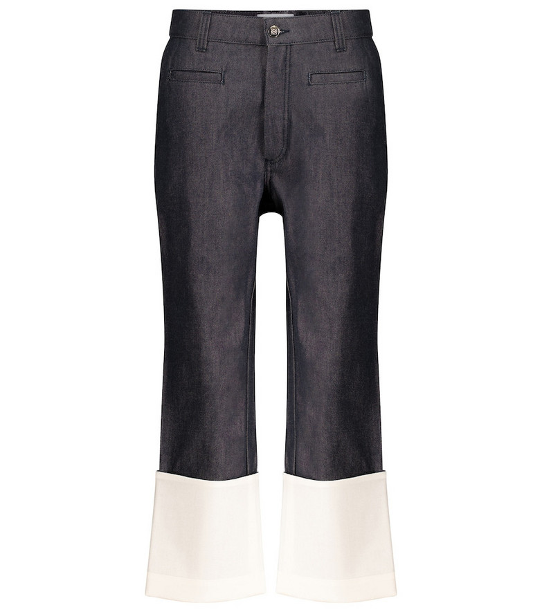Loewe High-rise straight jeans in blue