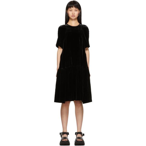 Cecilie Bahnsen Black Annabella Dress