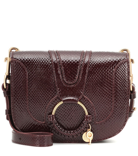 See By Chloé Hana Small leather shoulder bag in red