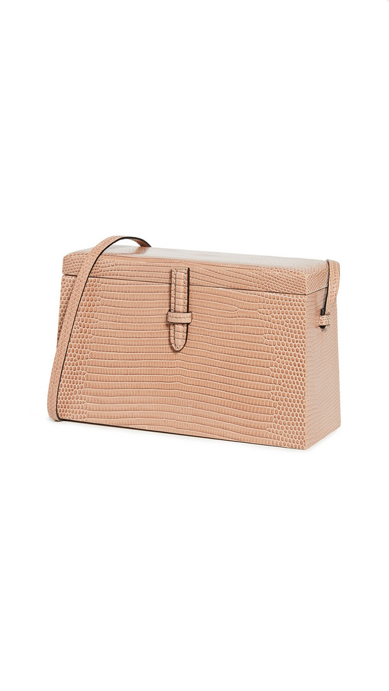 Hunting Season Square Trunk Bag in taupe