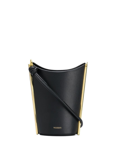 Yuzefi Pitta bucket bag in black