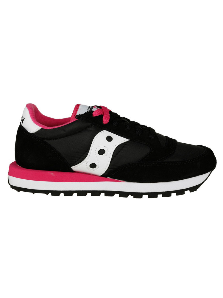 Saucony Logo Sneakers in black