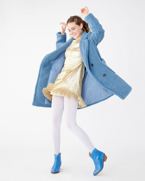 shoes coat dress