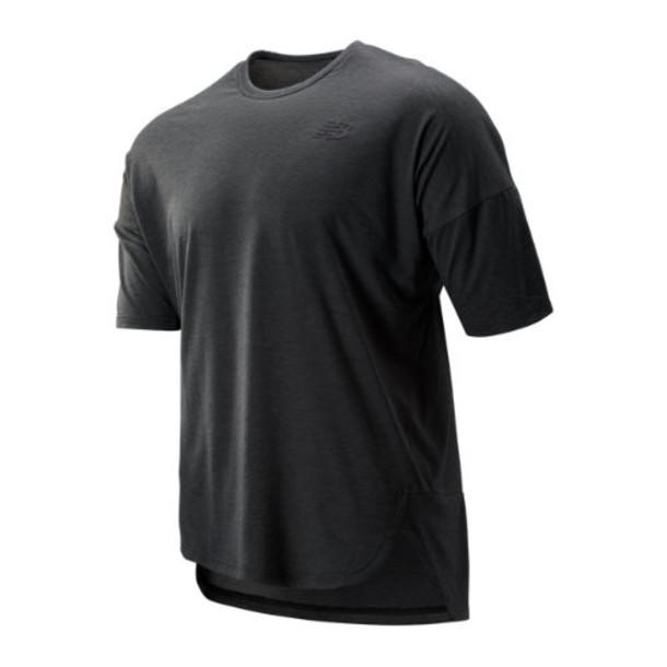 New Balance 93101 Men's Reclaim Hybrid Short Sleeve - Grey (MT93101BKH)