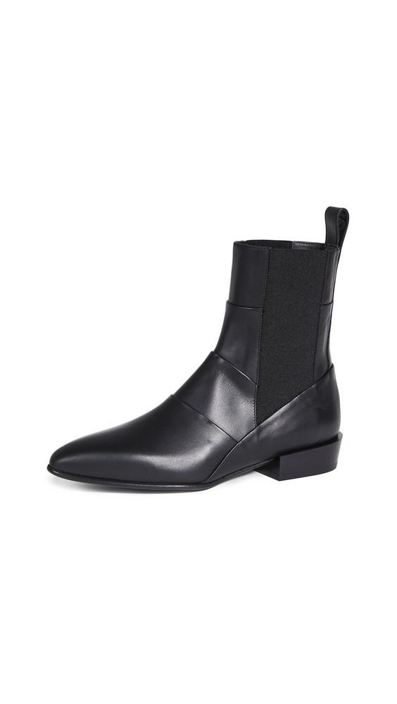 3.1 Phillip Lim Dree 25mm Elastic Booties in black