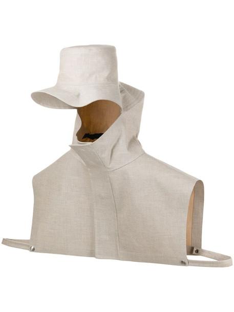 Jil Sander x Mackintosh rain hat in grey