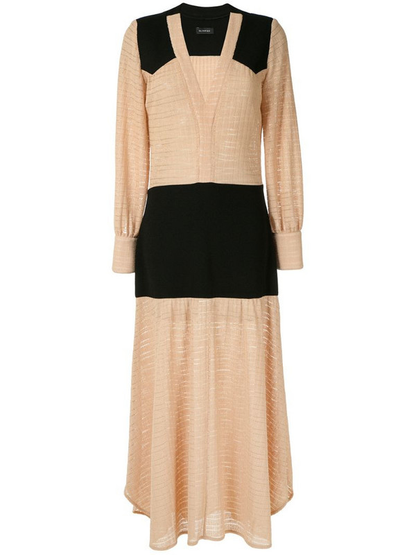 Olympiah Cirse maxi gown in neutrals