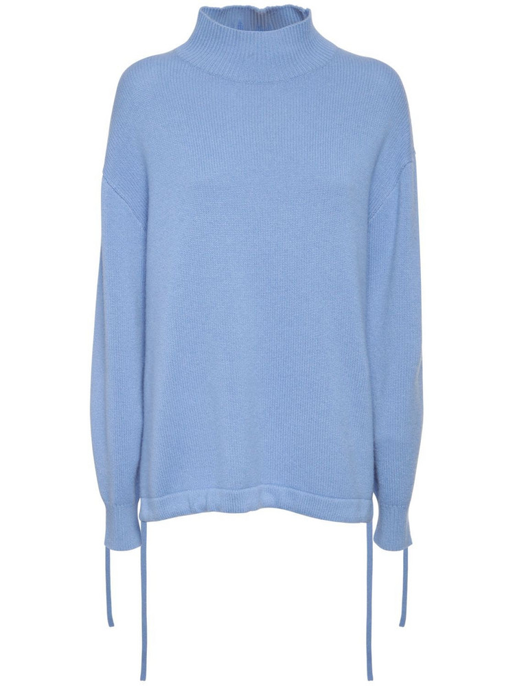 THEORY Oversized Cashmere Sweater in blue
