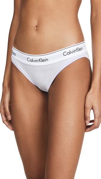 Calvin Klein Underwear Modern Cotton Bikini in purple