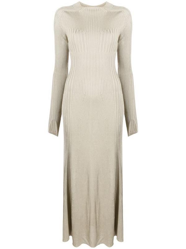 Aeron Brise fine-knit dress in neutrals