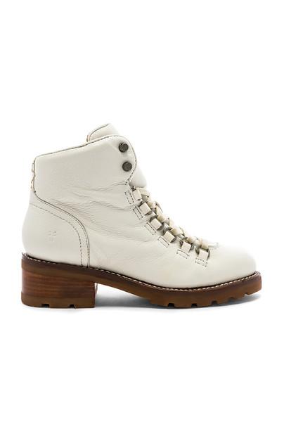 Frye Alta Hiker Boot in white