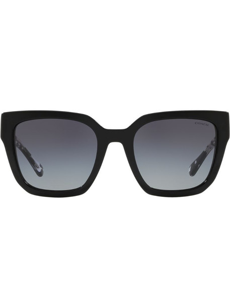 Coach Horse & Carriage sunglasses in black