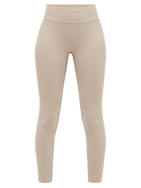 Vaara - Millie High-rise Leggings - Womens - Light Brown