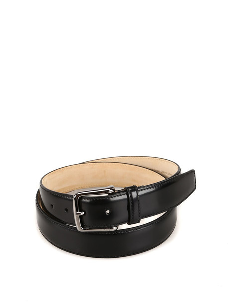 Tod's Black Smooth Leather Belt Xcmcp610100krwb999