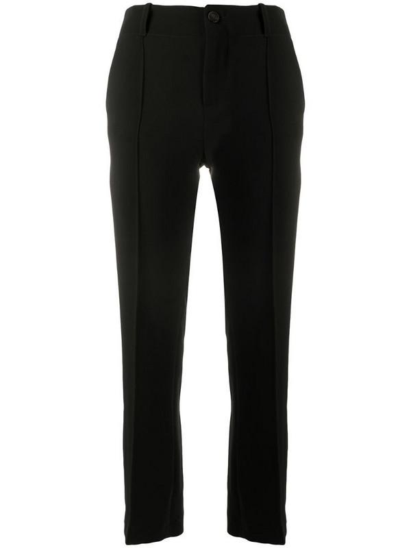Alysi straight-leg trousers in black