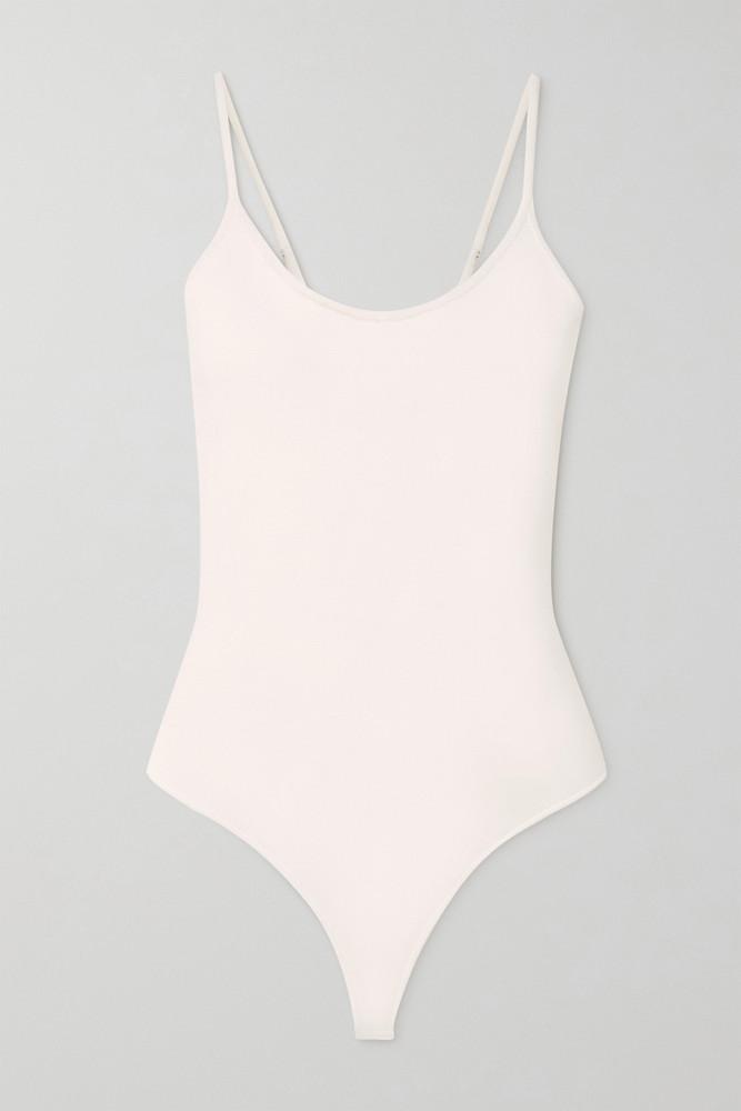 A.L.C. A.L.C. - A.l.c. X Petra Flannery Mara Stretch-knit Bodysuit - White