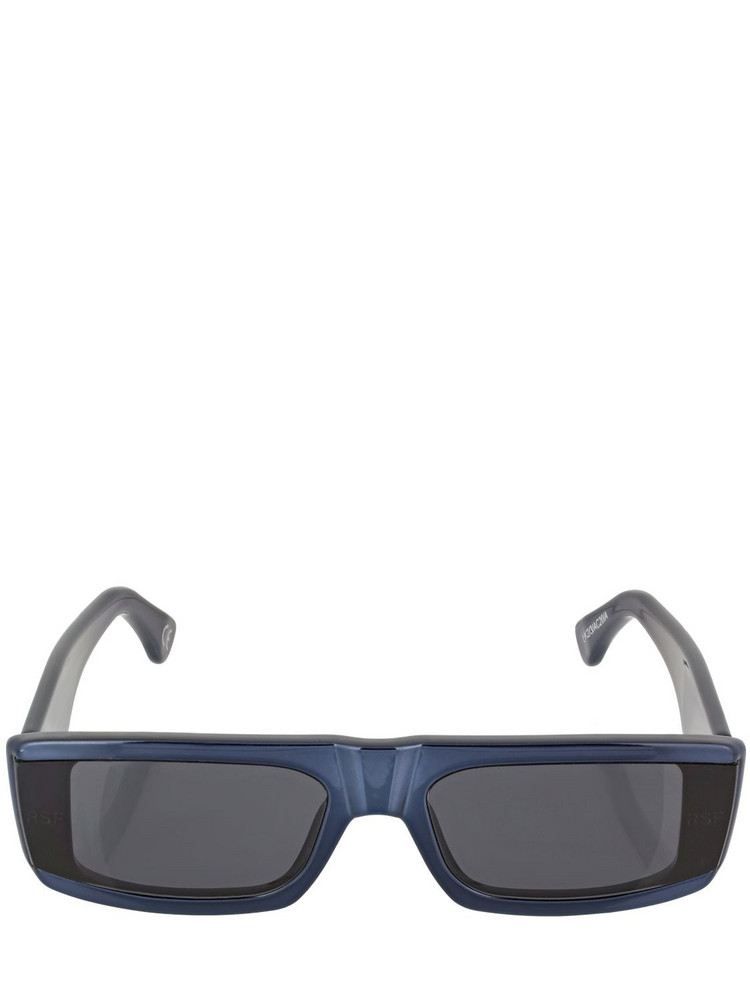 RETROSUPERFUTURE Issimo Chrome Black Acetate Sunglasses