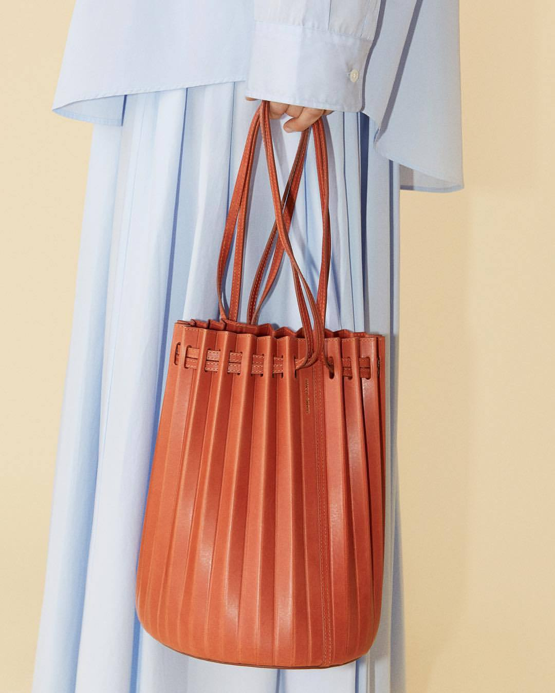 bag orange bag