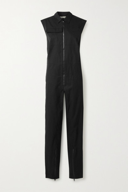 Bottega Veneta - Cotton Jumpsuit - Black