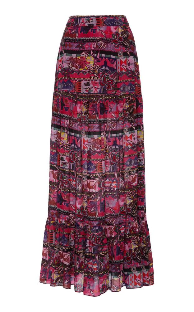 Chufy Cusco Printed Broadcloth Maxi Skirt in print