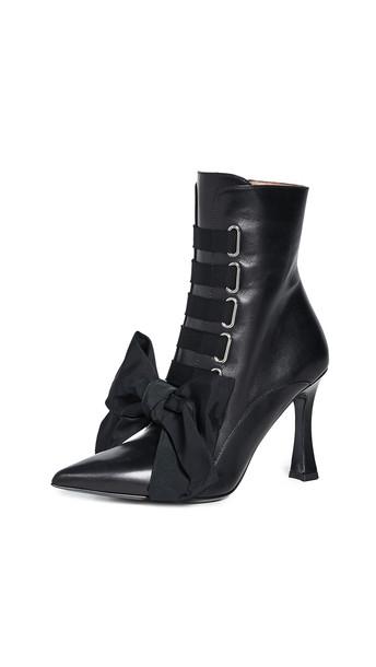 Tabitha Simmons Farren Booties in black