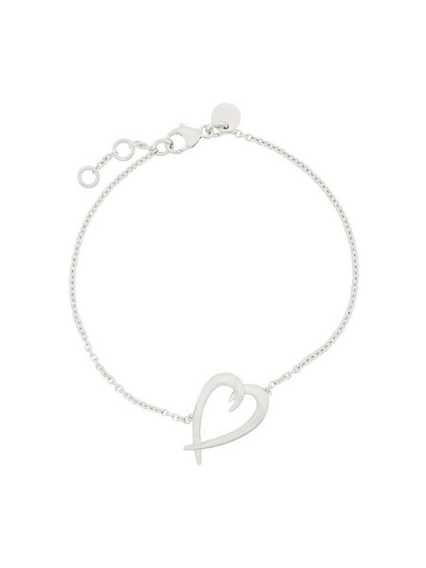 Shaun Leane sterling silver Signature Heart bracelet in metallic