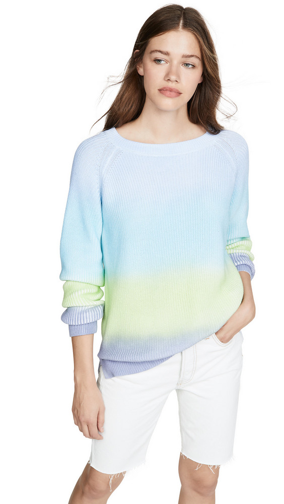 525 America Ombre Shaker Sweater in blue / multi