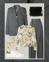 shoes,jacket,pants,top,bag