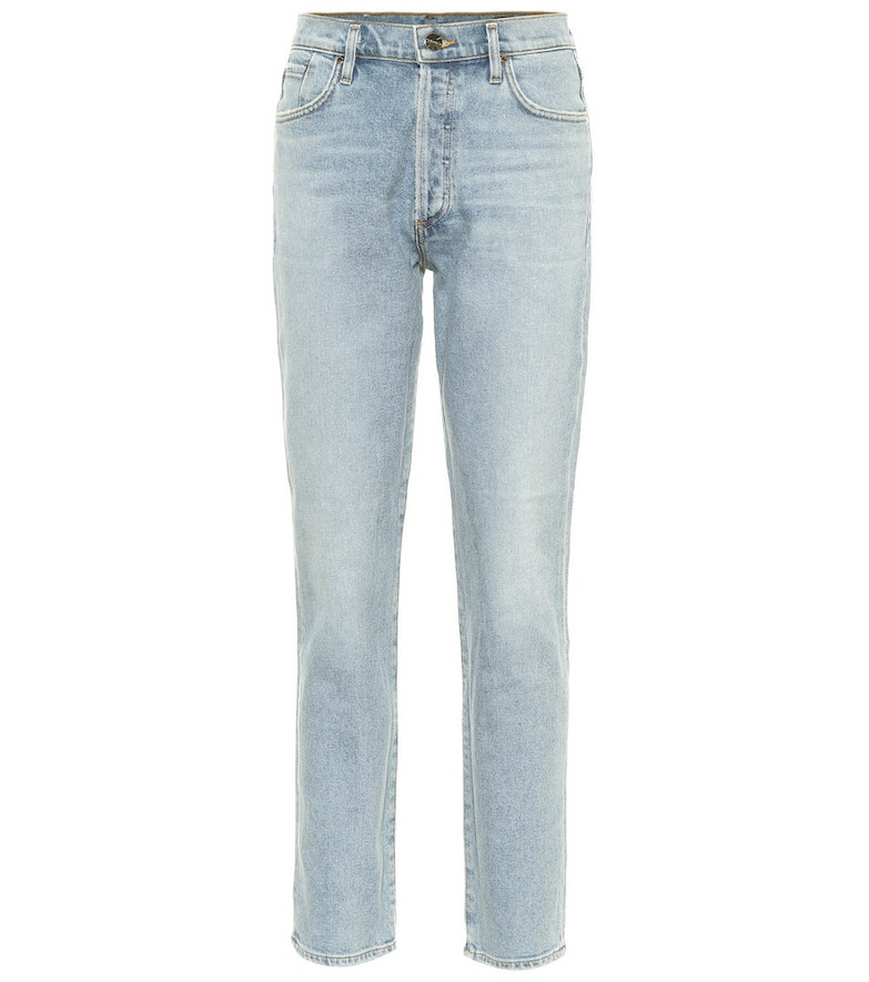 Goldsign The Benefit high-rise skinny jeans in blue