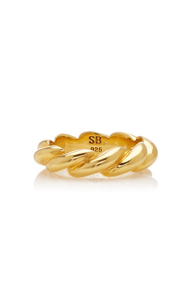 Sophie Buhai Small Rope Ring Size: 5 in gold