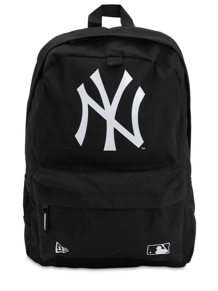 NEW ERA Ny Yankees Backpack W/ Front Pocket in black