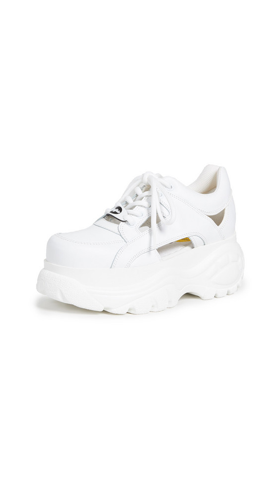Buffalo London 1331-14 Classic Kicks Sneakers in white