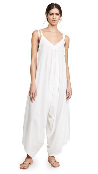 9seed Bali Romper in white