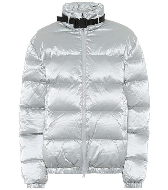 1017 ALYX 9SM Down tyvek jacket in silver