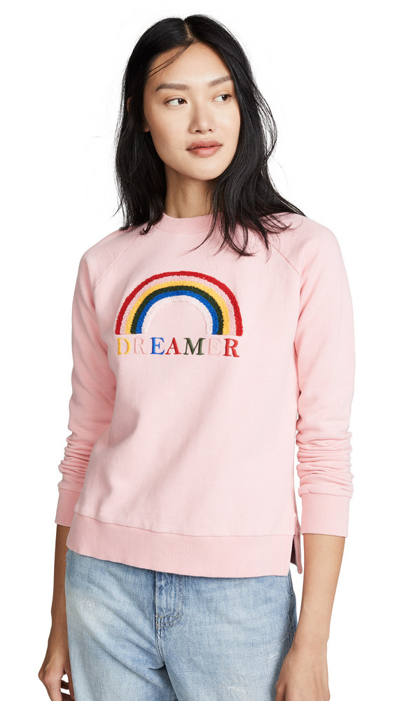 Chinti and Parker Dreamer Sweatshirt in rose