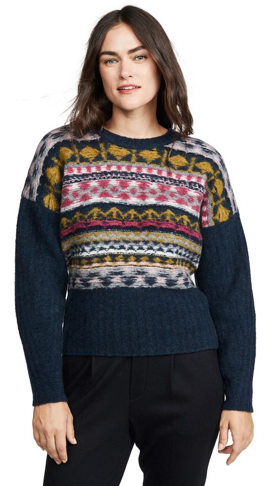 Jason Wu Merino Wool Fair Isle Sweater in multi