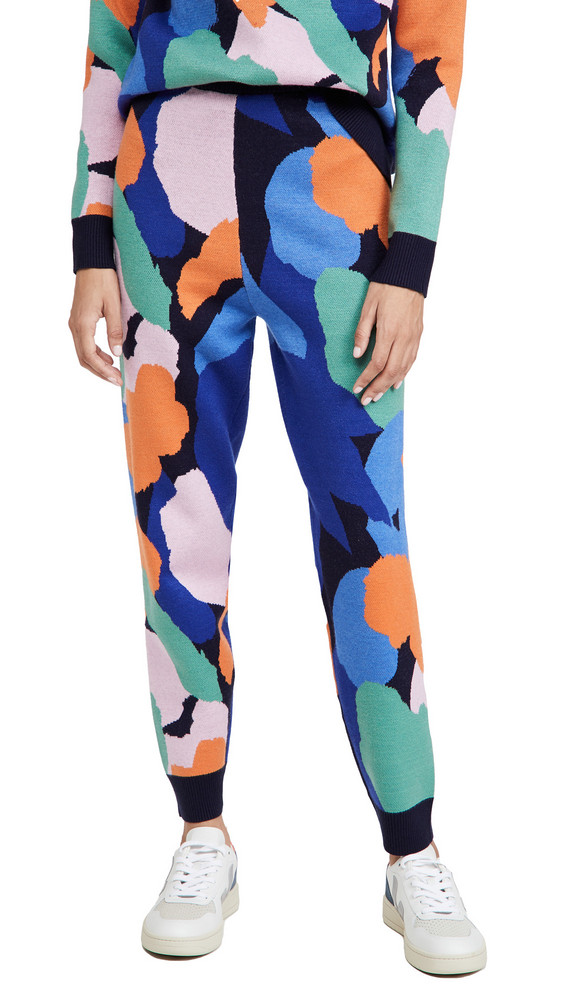 Never Fully Dressed Artist Print Lounge Pants in multi