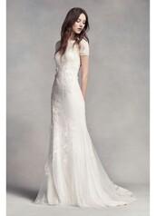 dress,vera wang,white,cap sleeves dresses,wedding dress