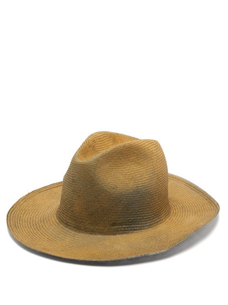 Reinhard Plank Hats - Bonica Painted Straw Hat - Womens - Beige Multi