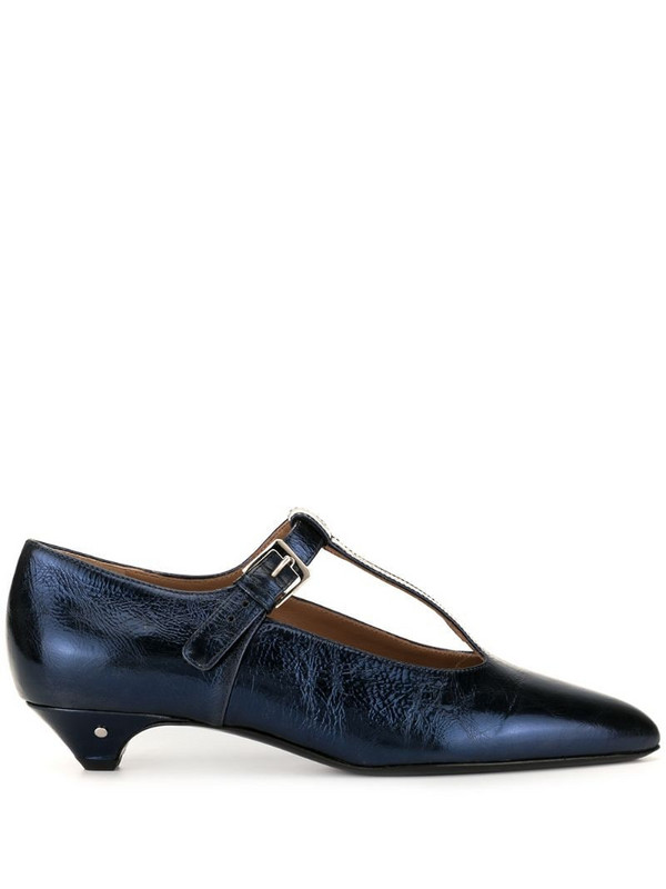 Laurence Dacade Vroni buckle pumps in blue
