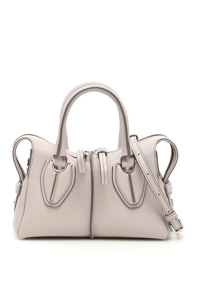 Tods Micro D-styling Bag in grey