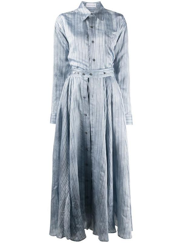 Faith Connexion striped suit dress in blue