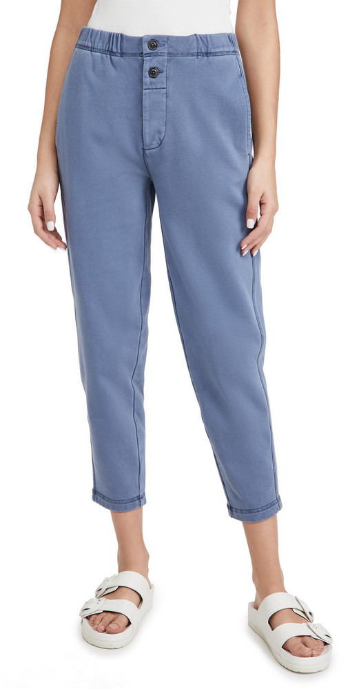 Alex Mill Davie Fleece Pants in blue