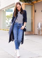sydne summer's fashion reviews & style tips,blogger,t-shirt,jeans,bag,jacket,shoes,ankle boots,spring outfits
