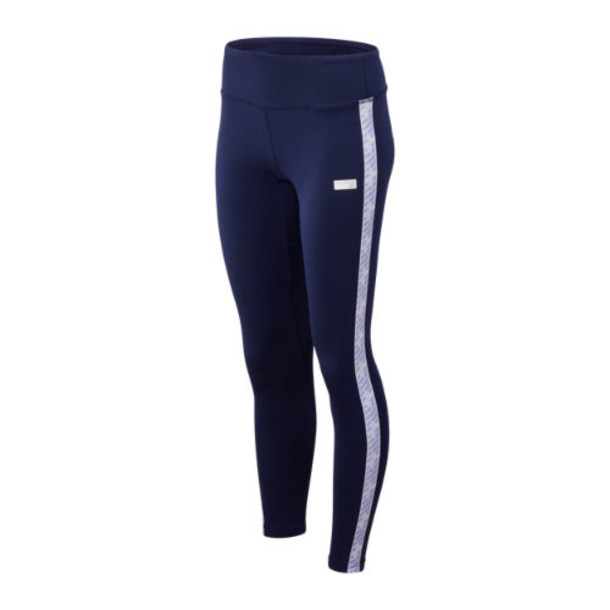 New Balance 93560 Women's NB Athletics Classic Logo Legging - Navy (WP93560PGM)