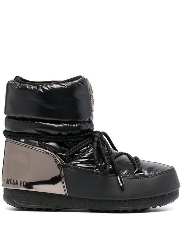 Moon Boot Aspen low moon boots in black